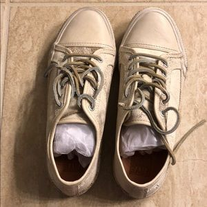Frye leather sneakers.  Brand new, never worn!